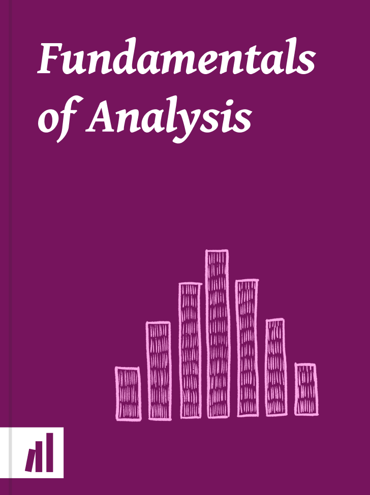 Cover of Fundamentals of Analysis