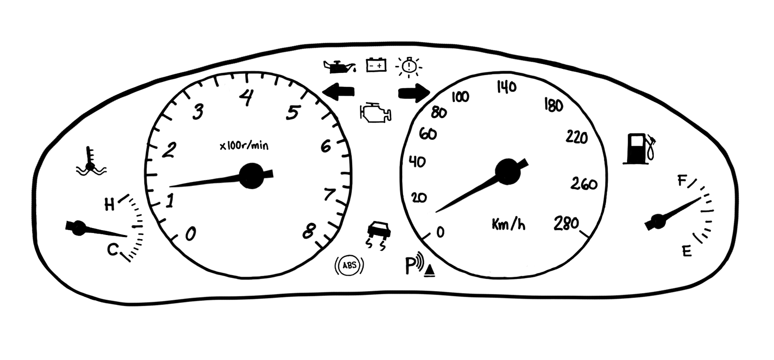 car dashboard example