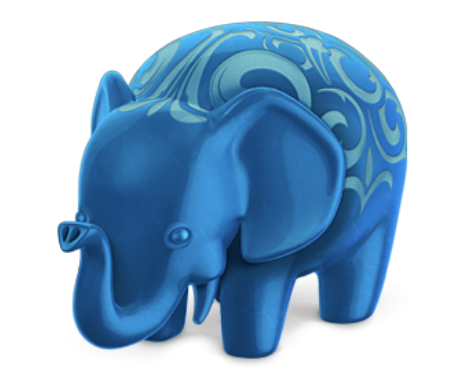 picture of the Postgres app's icon