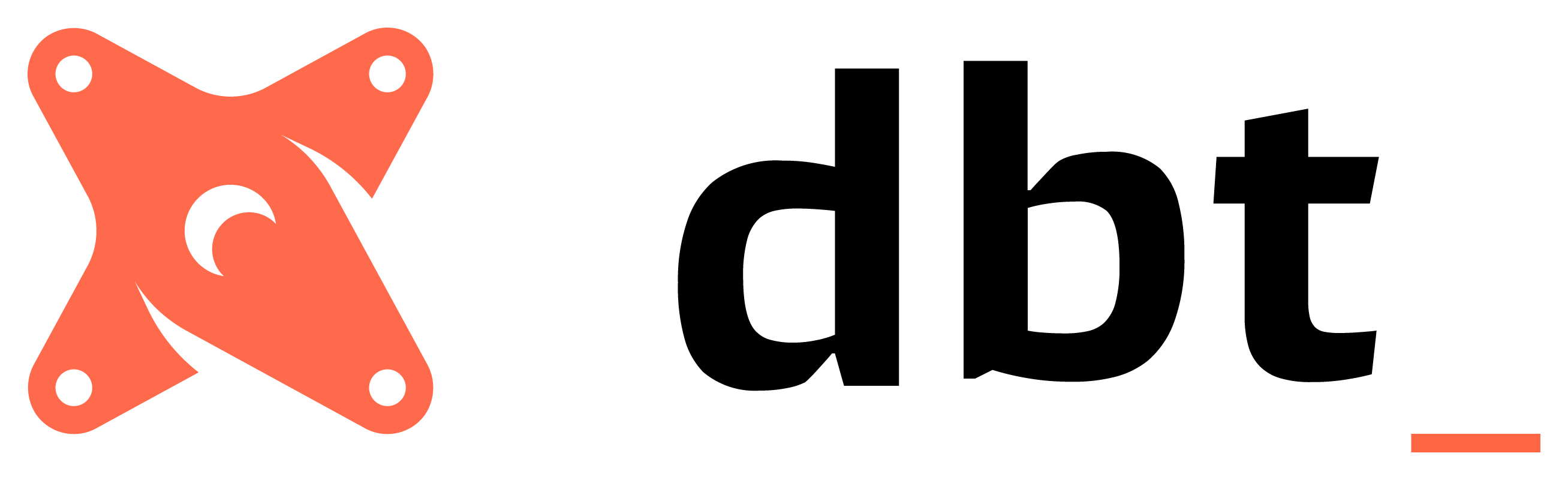 The logo for dbt